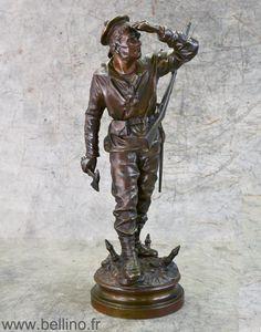 Restauration de patine: le fusilier marin de Charles Anfrie http://www.bellino.fr/blog/?p=355
