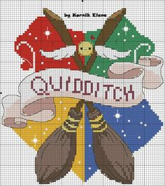 Discover recipes, home ideas, style inspiration and other ideas to try. Tricot Harry Potter, Harry Potter Cross Stitch Pattern, Harry Potter Crochet, Beaded Cross Stitch, Cross Stitch Embroidery, Cross Stitch Designs, Cross Stitch Patterns, Cross Stitch Pillow, Embroidery Patterns Free