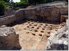 De Tarragona, las ruinas romanas de Altafulla. ¡Menudo caldarium enorme! ¡Quiero verlo en vivo!