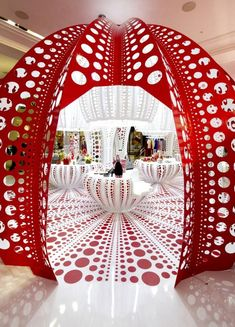 Louis Vuitton - Yayoi Kusama - London