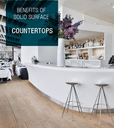 How you can you use the benefits of solid surface for your countertop design