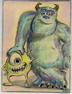 Monster's Inc. by spocksbrain88.deviantart.com on @deviantART
