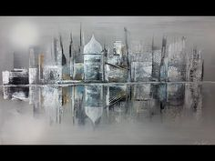 Einfach Malen - Easy Painting - speed painting -White City - YouTube
