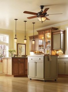 Elegant Kitchen Ceiling Fan With Light   Ceiling Fans Have Already Been Gaining In  Popularity For The Past 20 Years.
