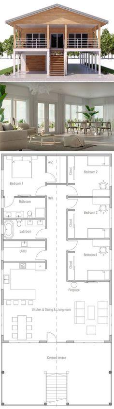 Coastal House Plan