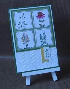 Flowering Fields, stampin up, Blumen, Sale-A-Bration, colorieren