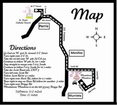 Map From Ceremony To Reception Wedding Directions Make Your Own Program Ideas Diy