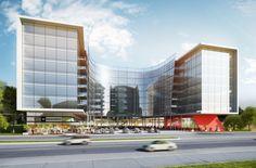 Rosebank Gateway. #office #architecture #rosebank #modern #design #glass #building #arc architects