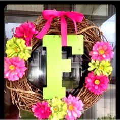 Summer wreath by victoria