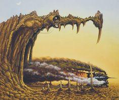 Surrealismo e mundos fantásticos nas obras de Jacek Yerka