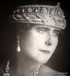 Queen Maria of Romania, born Elisabeth Pauline Ottilie Luise zu Wied she was the first Queen of Romania Queen Mary, King Queen, Romanian Royal Family, Greek Royalty, Royal Throne, Queen Victoria Prince Albert, Royal Jewelry, Jewellery, British Royal Families