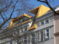 aichberger architektur ZT | projekte Apartment Communities, Bauhaus, Old And New, Rooftop, Deco, Architecture Design, Loft, Exterior, Cabin