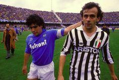 Legends - Maradona and Platini
