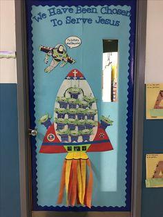 Catholic schools week door | Decorating classroom wall ... - photo#17
