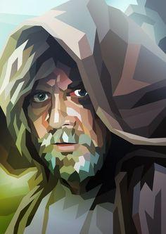 Luke Skywalker (The Force Awakens) by Liam Brazier