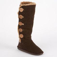 MUK LUKS Tall Boots - cute!