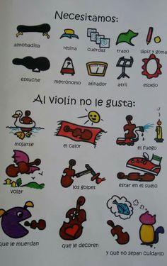Al violín..
