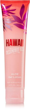 Hawaii Passionfruit Kiss Aloe Gel Lotion - Signature Collection - Bath & Body Works