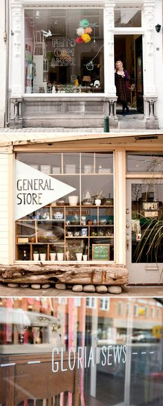 I am in love with the middle photo, I want a similar store front when I open my…