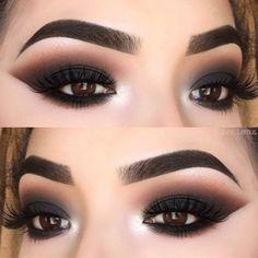 Gorgeous Makeup: Tips and Tricks With Eye Makeup and Eyeshadow – Makeup Design Ideas Best Eyeshadow, Eyeshadow Looks, Eyeshadow Makeup, Makeup Brushes, Eyeshadows, Makeup Remover, Dark Eyeshadow, Makeup Inspo, Makeup Inspiration