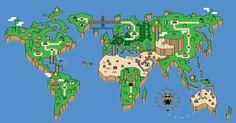 world by Mario