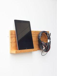 Head Jack Ear Rack, Headphone Stand, iPad Wall Mount, Headphone Holder, Tablet…