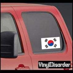 Rkorea Flag Sticker Car Or Wall Vinyl Decal