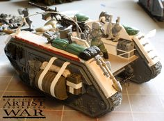 Using spare Games Workshop parts to kitbash a Forge World Imperial Guard (Astra Militarum) Salamander Scout/Command vehicle. Warhammer Imperial Guard, 40k Imperial Guard, Imperial Knight, Salamanders 40k, Ice Warriors, 40k Armies, Model Tanks, Warhammer 40000, Space Marine