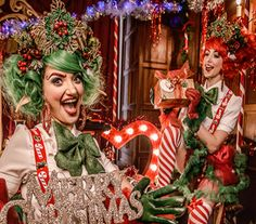 Christmas Party Entertainment from Calmer Karma Entertainment Agency -UK Father Christmas, Christmas Elf, Christmas Themes, Christmas Presents, Christmas Wreaths, Christmas Ornaments, Dancing Santa, Balloon Modelling, Entertainment Ideas