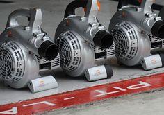 Brake cooling fan.