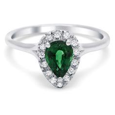 Timeless Designs Emerald & Diamond Ring  www.houstonjewelry.com