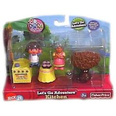 Dora the Explorer Kitchen Playset - KyrStore Dora The Explorer, 10th Birthday, Fisher Price, Letting Go, Childhood, Let It Be, Toys, Kitchen, Lets Go