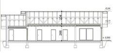 Przekrój HP SMART B CE Home Technology, Prefab, Floor Plans, Architecture, Home Plans, Arquitetura, Architecture Design, Floor Plan Drawing, House Floor Plans