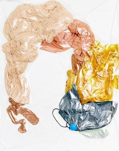 PERMANENT COMPRESSION : Nadine Goepfert —Textile & Design Fabric Photography, Bio Art, Trash Art, Street Art, Fashion Illustration Sketches, Textile Fiber Art, Textiles, Sketchbook Inspiration, Tecno