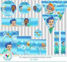 Kit Festa Bubble Guppies mod:02 Printable Party Bubble Guppies