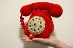 Le Petit Paquebot. Telephone Amigurumi