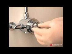 How to calibrate a traditional shower mixer handle
