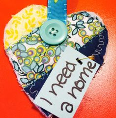 Hello, I found a beautiful quilted heart on the Baltimore Annapolis Trail in Severna Park, MD. I was walking on the trail with my husband when I saw the quilted heart hanging on a flower. Thank you for your wonderful creation. :) #IFAQH #ifoundaquiltedheart