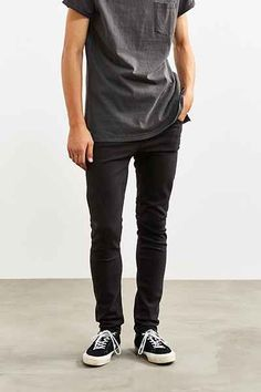 Shoptagr | Cheap Monday Black Stretch Skinny Jean by Cheap Monday #dress #fashion #trends #onlineshopping #shoptagr