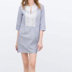 Zara Tunic With Lace