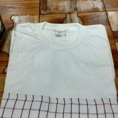 Kaoserbet #woventshirt #woven #tshirt #indonesia #handmade #kaos #yogyakarta #souvenir #diy