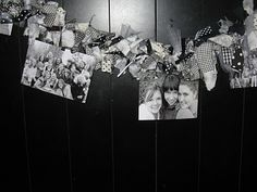 Such a cute blog with great ideas!  Loved this way of displaying pictures! So fun!