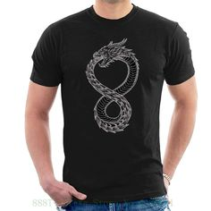 Ouroboros Takeshi Kovacs Tattoo Altered Carbon T Shirt Short Altered Carbon, Long Sleeve Tees, Short Sleeves, Movie Tees, Asian Men, Cotton Tee, Cool T Shirts, Shirt Designs, T Shirts For Women