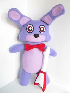 Bonnie Plush Inspired by Five Nights at Freddy's by FabroCreations