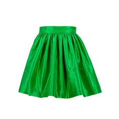 KELLY GREEN must have party skirt.  Pair it with a black crop top and strappy sandals and you have a perfect party outfit  #spring #summer #outfits #mustaves  @iheartbbq