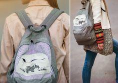Pannikin Sling Backpack, Backpacks, Bags, Fashion, Handbags, Moda, Fashion Styles, Taschen, Fasion