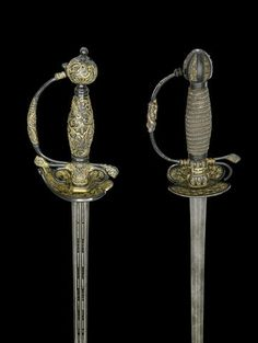 A Rare And Unusual Sawasa-Hilted Small-Sword Japanese For The European Market, Mid-18th Century