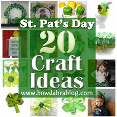 20 St. Patrick's Day Craft Ideas