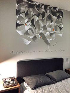 Calligraphie par Loredana Zega: MURS