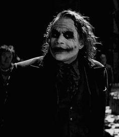 MissusJ uploaded this image to 'heath ledger/the joker'. See the album on Photobucket. Der Joker, Joker Heath, Joker Art, The Dark Knight Trilogy, Batman The Dark Knight, Joker Photos, Rick And Morty Poster, Heath Ledger Joker, Le Clown